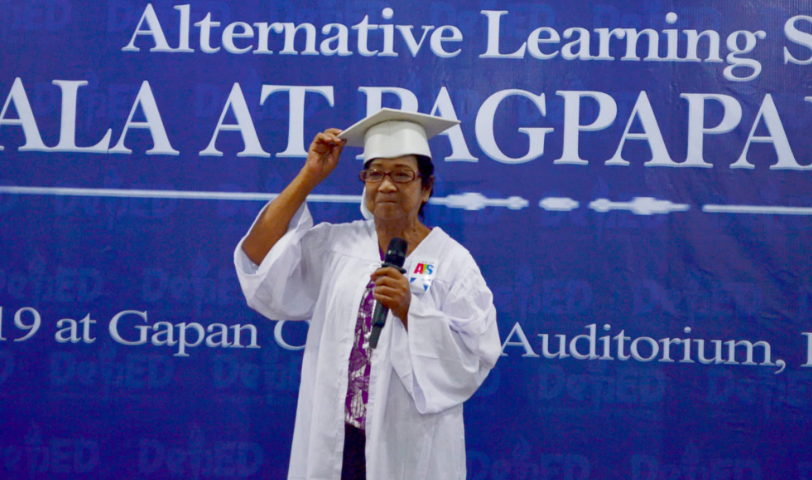 Dream come true: 65-year-old woman completes elementary education