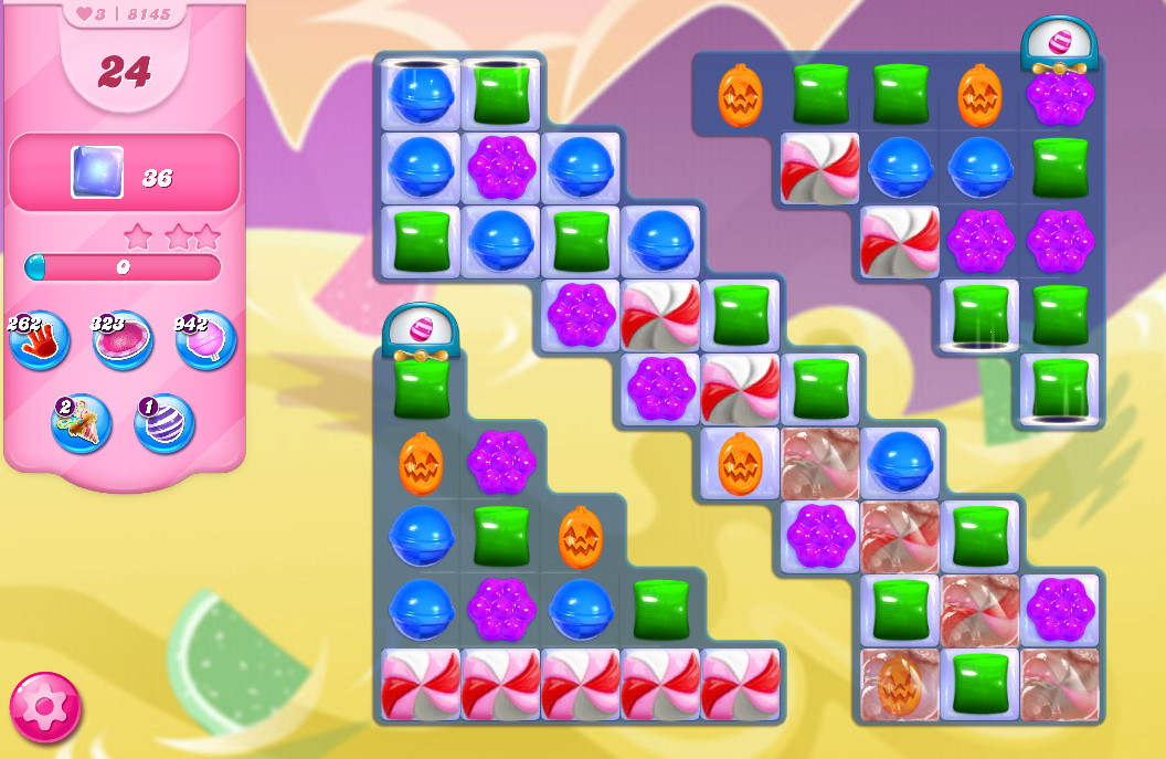 Candy Crush Saga level 8145