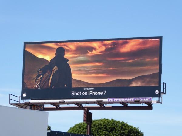 Shot on iPhone 7 Reuben W Clouds billboard