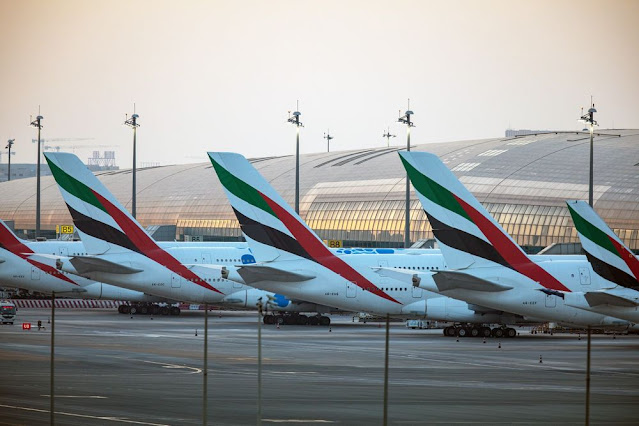 Middle East: Emirates Says Job Cuts Needed With Planes Grounded - Bloomberg