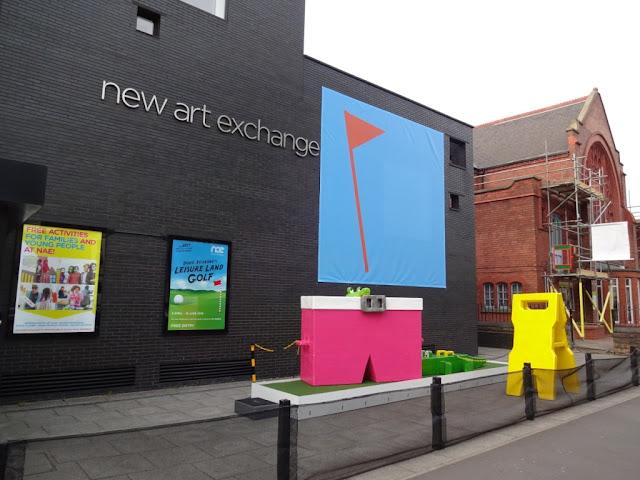 Doug Fishbone's Leisure Land Golf at the New Art Exchange in Nottingham