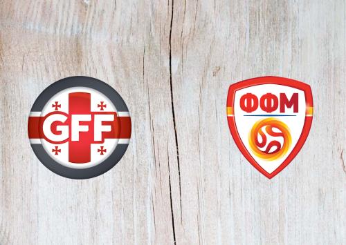 Georgia vs North Macedonia -Highlights 08 September 2020