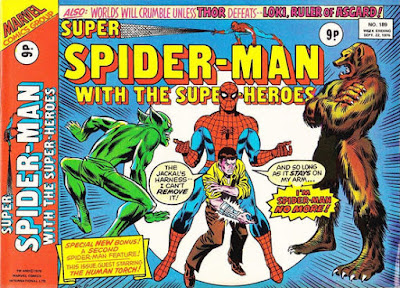 Super Spider-Man with the Super-Heroes #189, the Jackal and the Grizzly