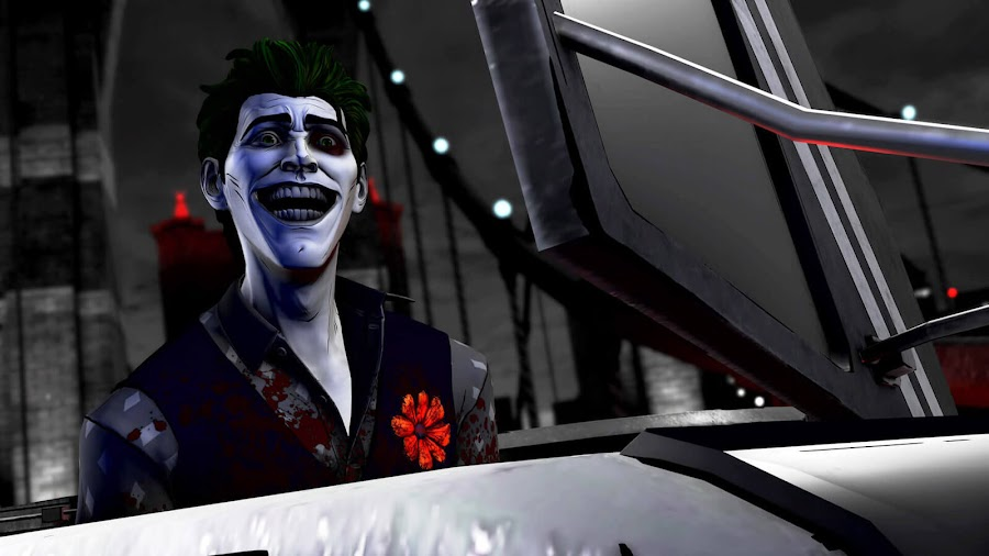 sinister gotham city the joker arthur fleck john doe jack napier dc comics bill finger bob kane batman telltale series shadows edition pc egs steam xbox one athlon games lcg entertainment point and click episodic graphic adventure game