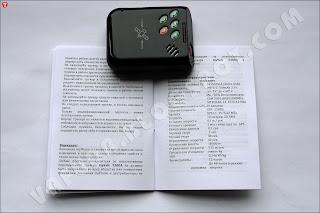 Характеристики GPS-трекера MySafe T300a из инструкции производителя