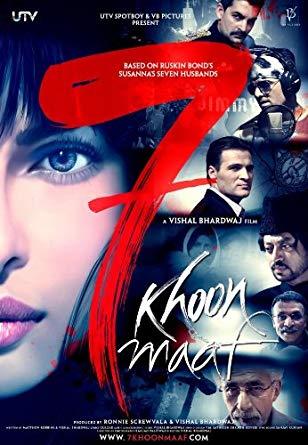 7 Khoon Maaf 2011 Full Movie Download HDRip 720p 1Gb Bolly4ufree.in