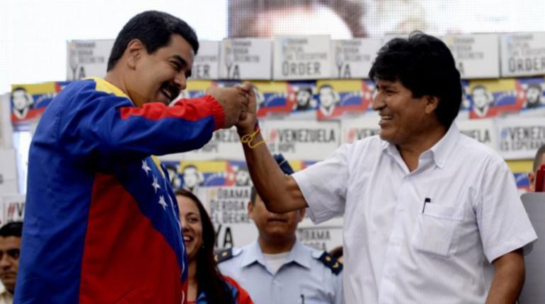 Maduro y Morales son aliados desde el inicio del socialismo del siglo XXI / WEB