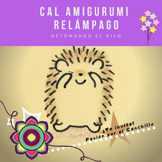 CAL AMIGURUMI RELAMPAGO