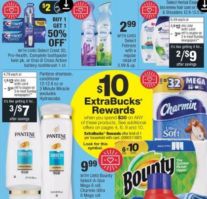 cvs couponers pg deals