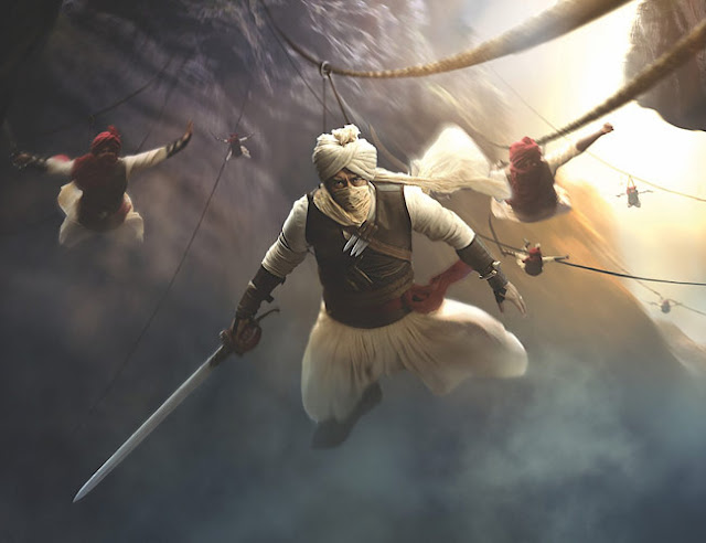 The First Look Of Ajay Devgn As Taanaji Is Out