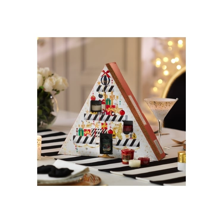 yankee candle holiday party advent calendar 2016