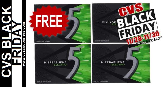FREE Gum Singles CVS Black Friday Deal