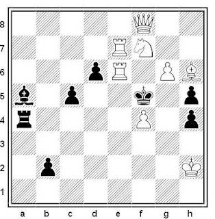 Problema de mate en 2 compuesto por Daniel Papack y Wieland Bruch (2º Premio, Ceskoslovenski Sach 1996)