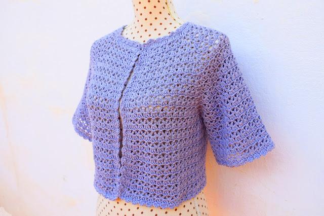 3 - Crochet Bolero para mujer a crochet y ganchillo Majovel Crochet facil sencillo bareta paso a paso DIY puntada punto alto punto bajo