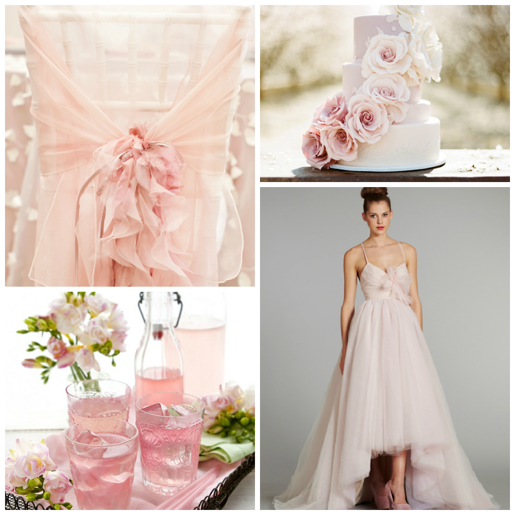 Colori Da Abbinare Al Rosa magnolia wedding planner: un matrimonio in rosa: istruzioni