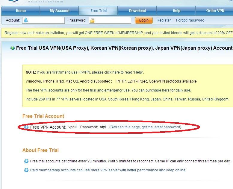 Host vpn software