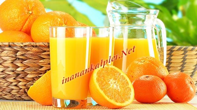 Portakal ve portakal suyu