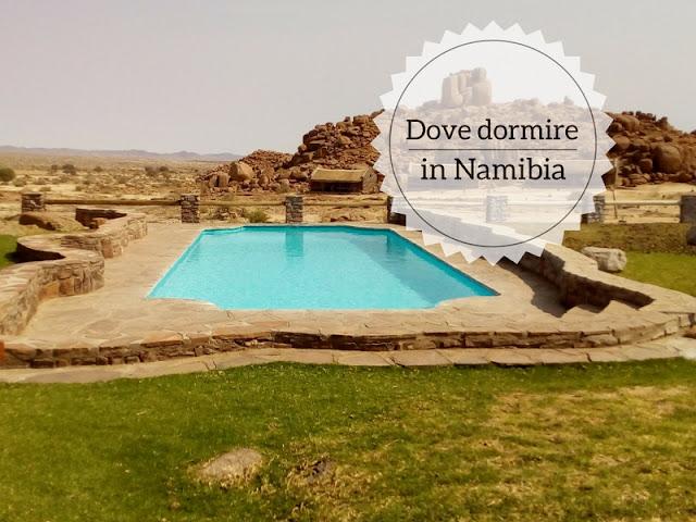 Dove dormire in Namibia