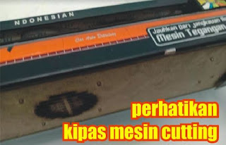 kipas mesin cutting sticker