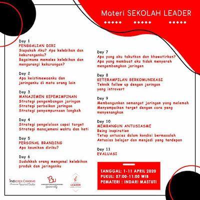 review sekolah leader indscript