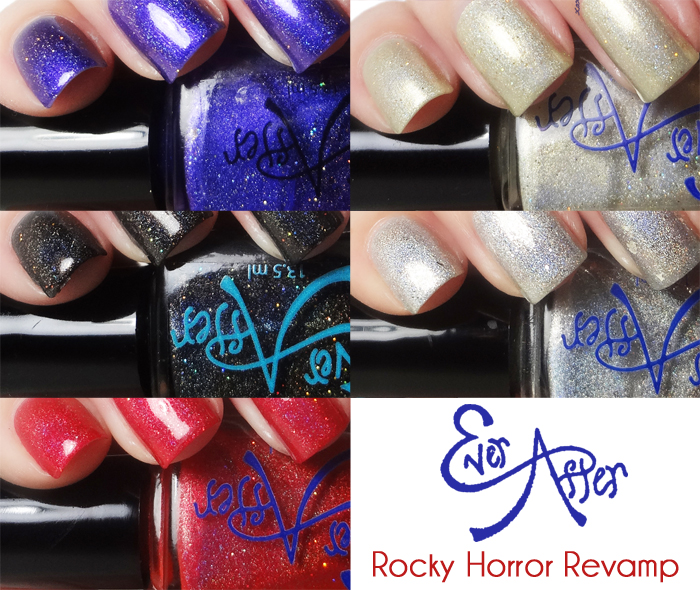 xoxoJen's swatches of Ever After Rocky Horror Revamp