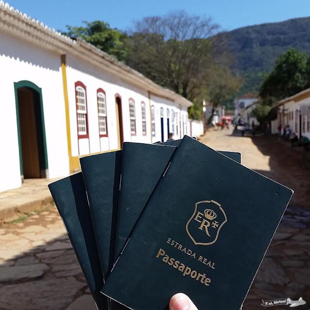 Estrada Real, Caminho Velho, Tiradentes, Carimbo, passaporte