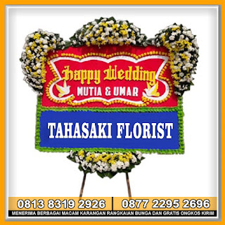 Toko Bunga Papan Happy Wedding