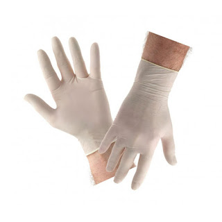 X-Logers.net Handscoon Safeglove Exam Safegloves Sarung Tangan Karet Isi 100PCS