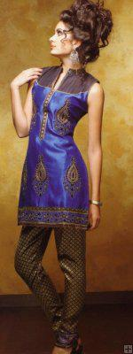 Salwar Kameez in Royal Blue