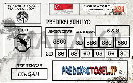 Prediksi Suhu Yo Singapura Kamis 12 November 2020