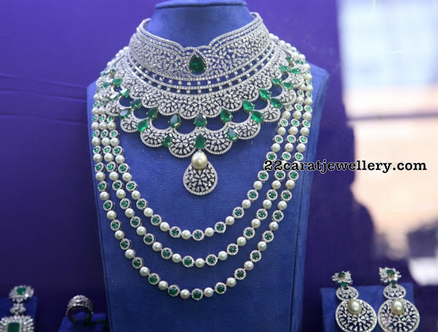Indian Diamond Wedding Jewellery Sets