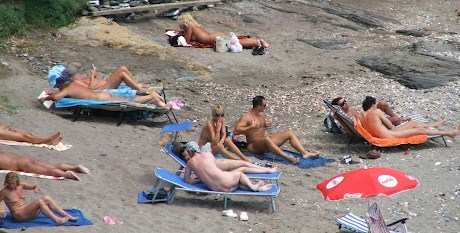 Nudist beach holidays in spain