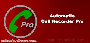 تحميل برنامج تسجيل المكالمات للاندرويد Automatic Call Recorder Pro