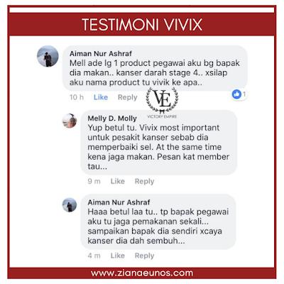 Testimoni Vivix Shaklee
