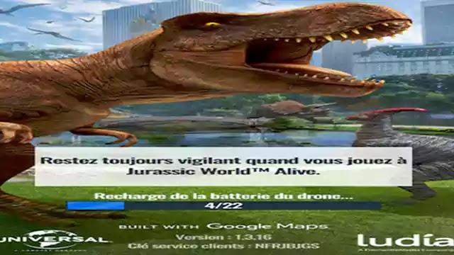 تنزيل لعبة اندرويد Jurassic World Alive على هاتف محمول