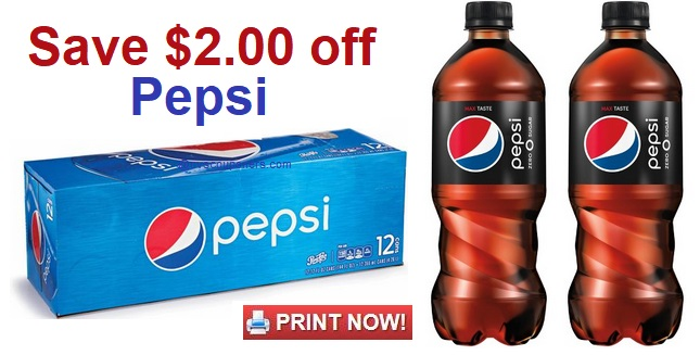 photo about Pepsi Coupons Printable named Pepsi Discount coupons Scarce $2.00 Pepsi 12-Pack and Pepsi 20 oz