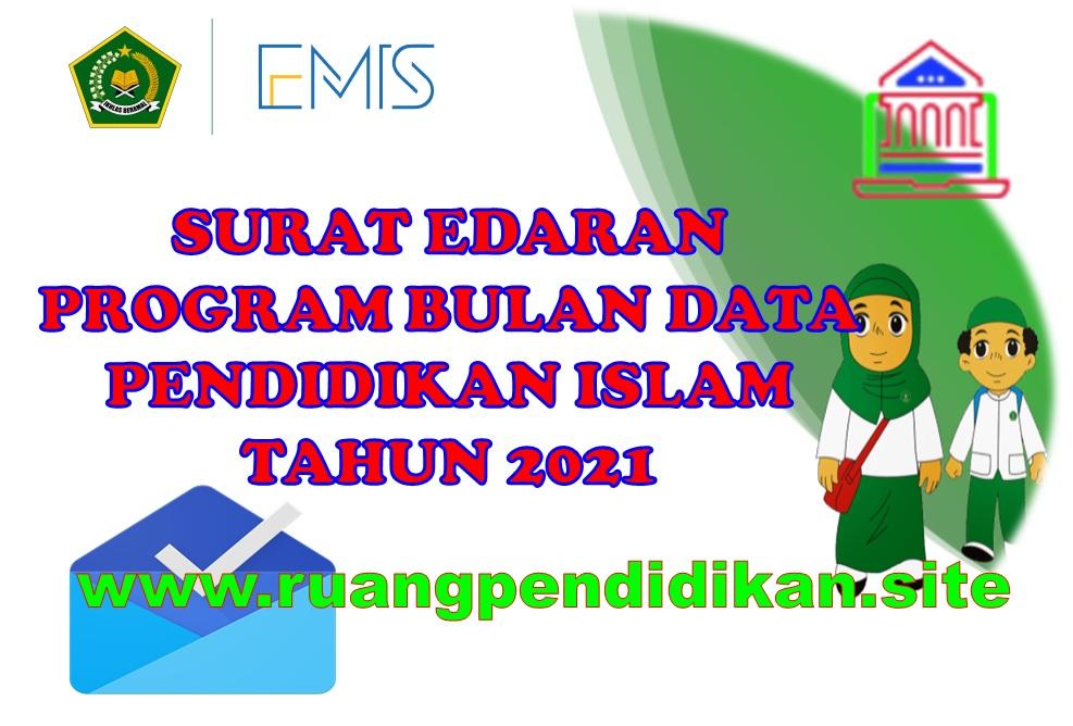 Program Bulan Data Emis Madrasah