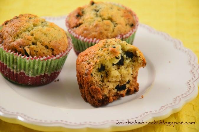 Muffiny z oreo