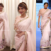 Baby Pink Sari By Ridhi Mehra