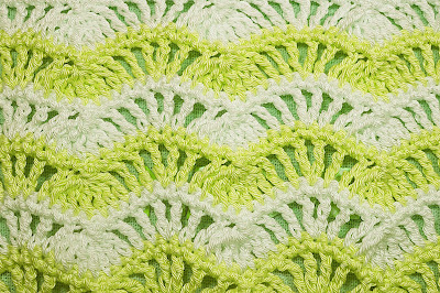 5 - Crochet Imagenes Puntada de ondas a crochet y ganchillo por Majovel Crochet