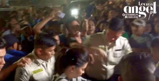 Angel Locsin Got Mobbed By Her Fans In Pasig City!