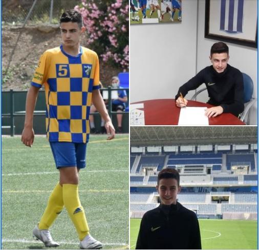 Oficial: El Málaga firma al alevín Ismael González
