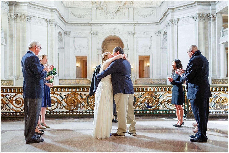 Napa Sonoma San Francisco Wedding Photography City Hall Katie Ian