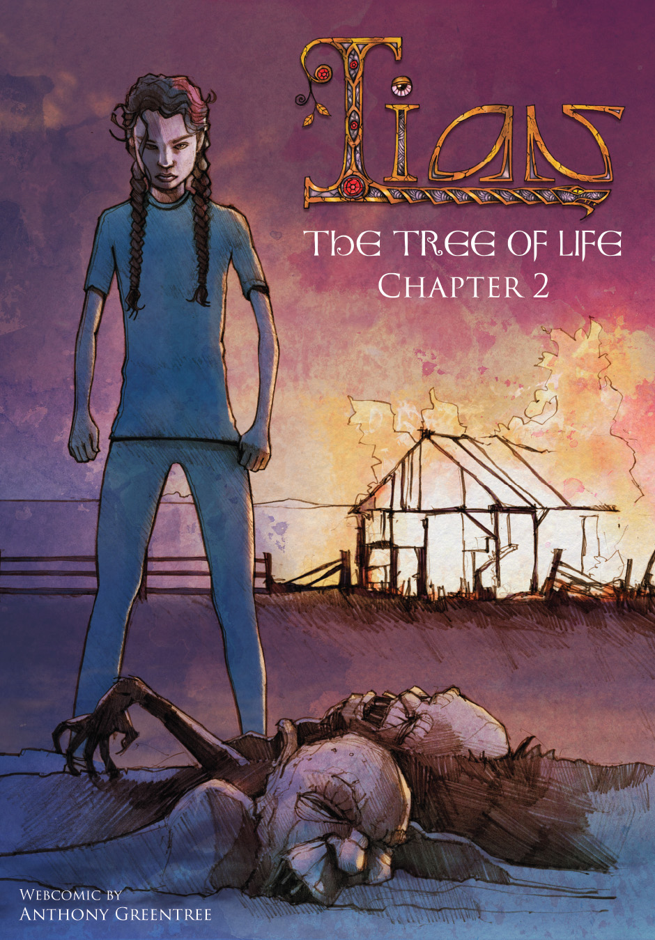 Lian Webcomic, The Tree of Life. Front Cover, chapter 2