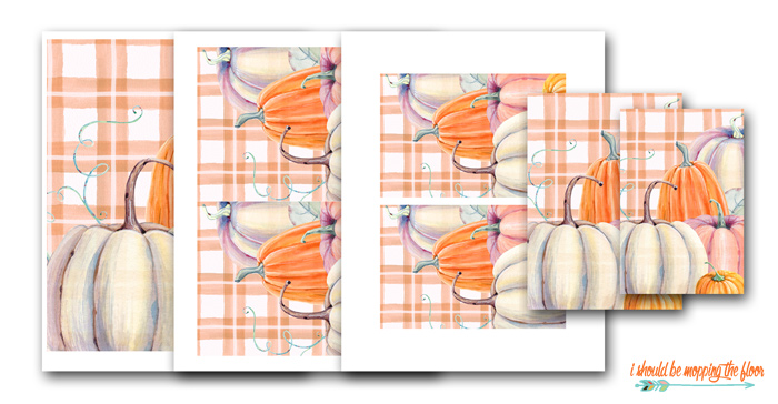Plaid Fall Printables