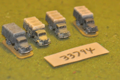 10mm WW2 / german - 4 trucks - vehicles (33794) picture 1
