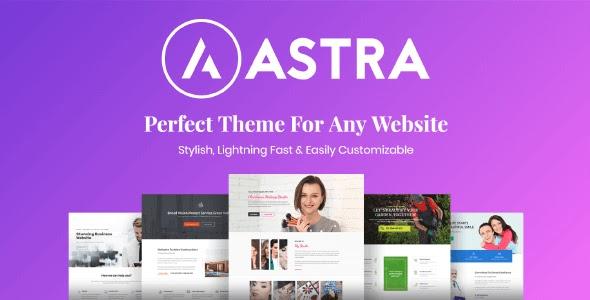 Astra Pro v3.6.2 - Tema WordPress Download Grátis