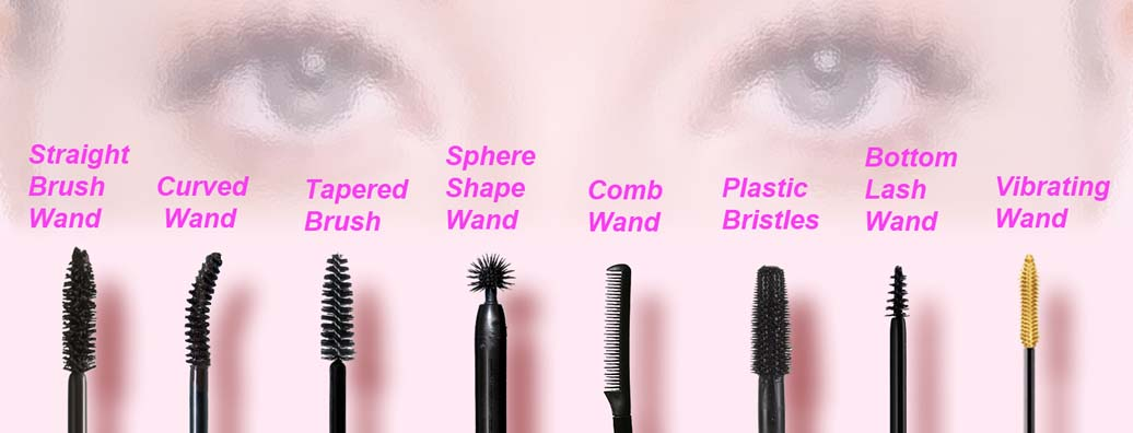 Geek chic reviews different types of mascara wands and for Mascara wands