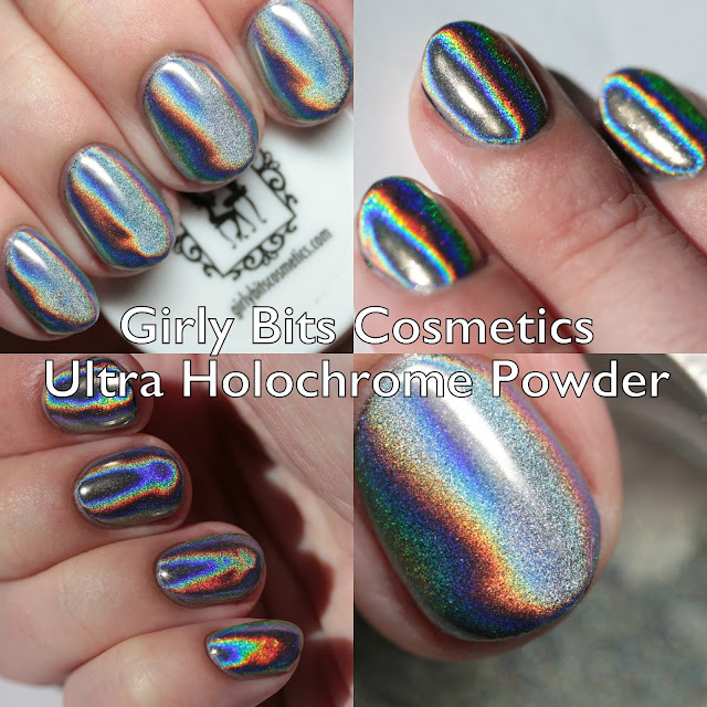 Girly Bits Cosmetics Ultra Holochrome Fine Powder