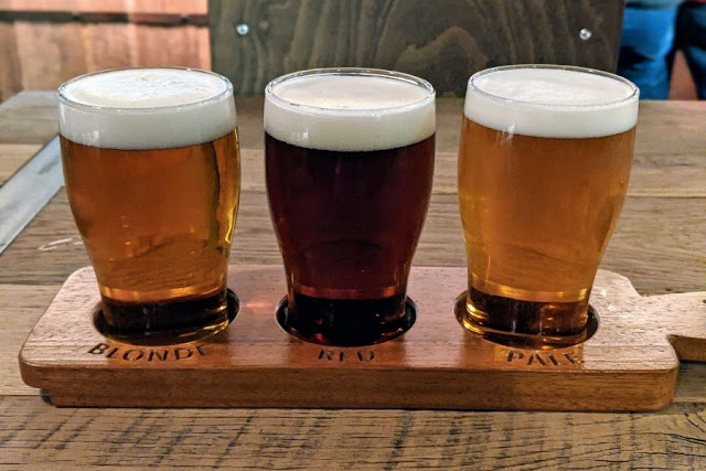 Things to do in Kilkenny: Tour Smithwick's Brewery and try a tasting paddle of beer